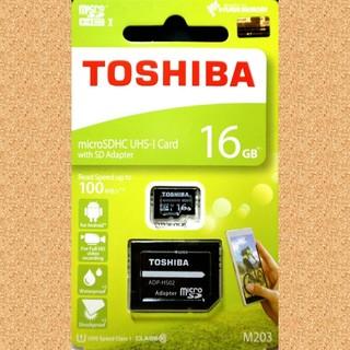 東芝 - 東芝  microSDカード  SDカード  16GB