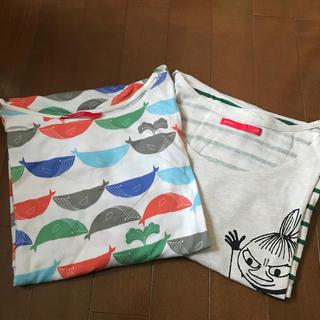 グラニフ(Design Tshirts Store graniph)のグラニフ チュニック2枚セット フリー(チュニック)