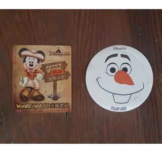 ディズニー(Disney)の香港ディズニーランド ステッカー 2枚(シール)