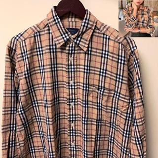 バーバリー(BURBERRY)のチェックシャツ L 検索) Burberry バーバリー ノバチェック(シャツ)