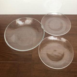 MUJI (無印良品) - 無印良品 ガラス皿 プレート 廃盤品