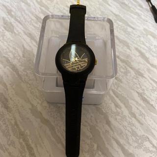 アディダス(adidas)のadidas 時計 黒金(腕時計(デジタル))