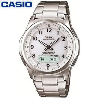 カシオ(CASIO)の【新品未使用】CASIO ウェーブセプター 電波 WVA-M630D-7AJF(腕時計(デジタル))