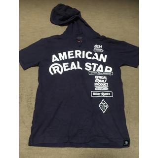 リアルビーボイス(RealBvoice)のRealBvoice 半袖パーカー(Tシャツ/カットソー(半袖/袖なし))