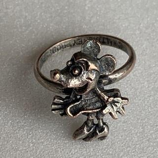 ディズニー(Disney)の激レア ウォルトディズニー プロダクション ヴィンテージ ミニー 指輪 リング(リング(指輪))