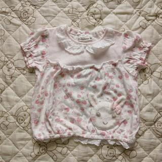 クーラクール(coeur a coeur)の美品 クーラクール 80 半袖 Tシャツ キムラタン 女の子(Tシャツ)