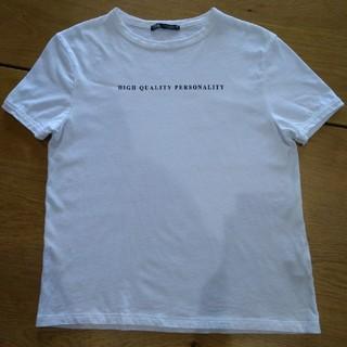 ZARA - ZARA 白Tシャツ