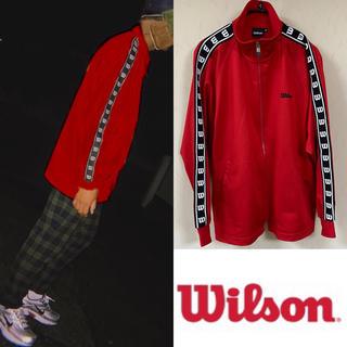 ウィルソン(wilson)の90's Wilson ウィルソン ジャージ トラックジャケット ロゴテープ(ジャージ)