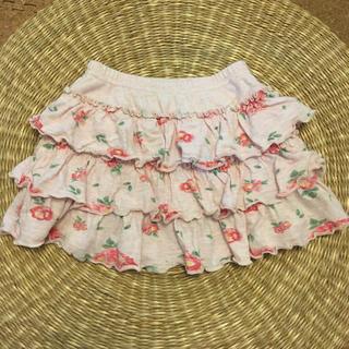 プチバトー(PETIT BATEAU)のフリル スカート(スカート)