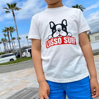 THE NORTH FACE - カリフォルニア系☆ルッソドッグTシャツ キッズ Lサイズ ホワイト ロンハーマン