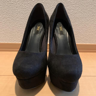 R&E - R&E 黒ヒール13cm