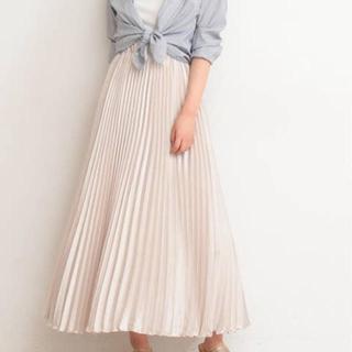 PROPORTION BODY DRESSING - PROPORTION BODY DRESSING プリーツサテンスカート