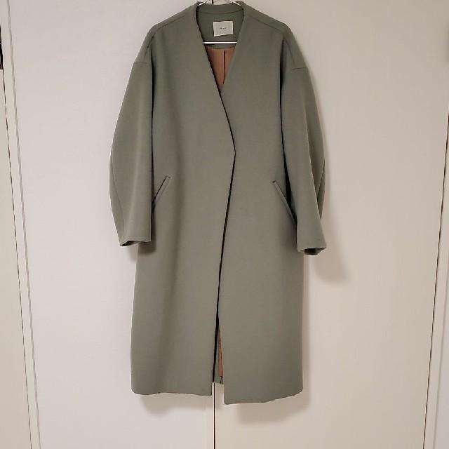 IENA(イエナ)のイエナ ノーカラーコート レディースのジャケット/アウター(ノーカラージャケット)の商品写真