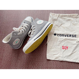 スライ(SLY)のSLY×CONVERSE スニーカー(スニーカー)