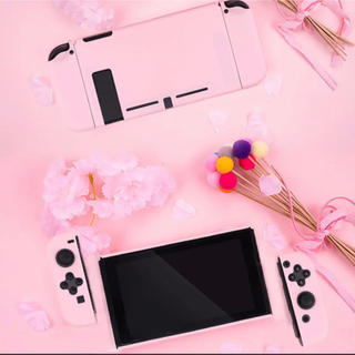 switch カバー ピンク(その他)