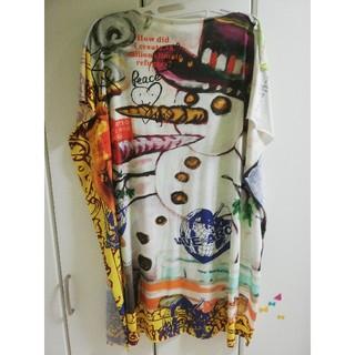 ヴィヴィアンウエストウッド(Vivienne Westwood)のスノーマン スクエアロングカットソー(シャツ/ブラウス(半袖/袖なし))