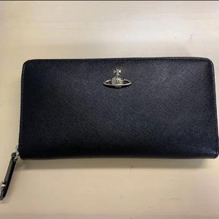 ヴィヴィアンウエストウッド(Vivienne Westwood)の【美品】Vivienne Westwood 長財布 ブラック(財布)