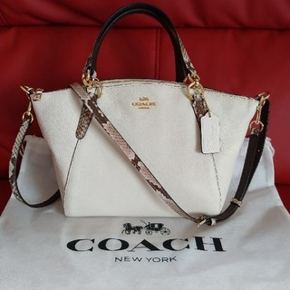 COACH - コーチ 新品 バッグ スカーフ付