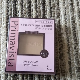 プリマヴィスタ(Primavista)のプリマヴィスタ きれいな素肌質感 パウダーファンデーション BO05 SPF25(ファンデーション)