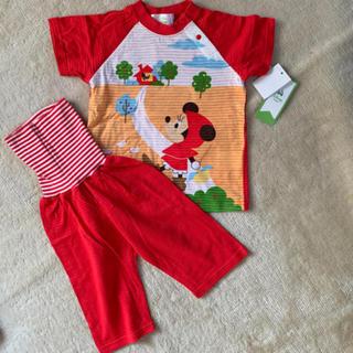 ディズニー(Disney)のミニー パジャマ 腹巻き付き 80(パジャマ)