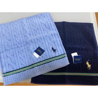 ラルフローレン(Ralph Lauren)の新品未使用 Ralph Lauren タオルハンカチ(ハンカチ/ポケットチーフ)