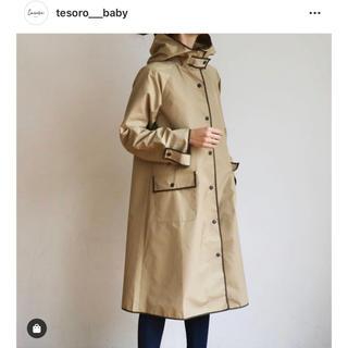 STUNNING LURE - tesro baby♡大人気即完売!ライトコート ベージュ 新品 レインコート