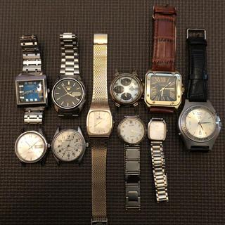 セイコー(SEIKO)のセイコー等 腕時計 ジャンク品 10点セット(腕時計(アナログ))