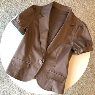 半袖 テーラードジャケット サマージャケット