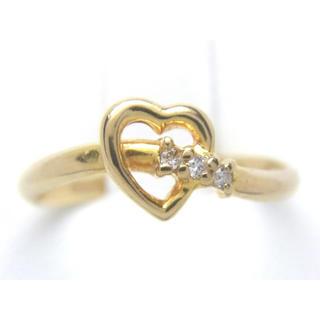 ヴァンドームアオヤマ(Vendome Aoyama)のヴァンドーム K18 天然 ダイヤ リング(リング(指輪))