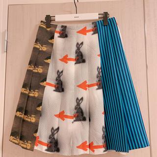 PRADA - クリーニング済 Prada プラダ スカート サイズ40