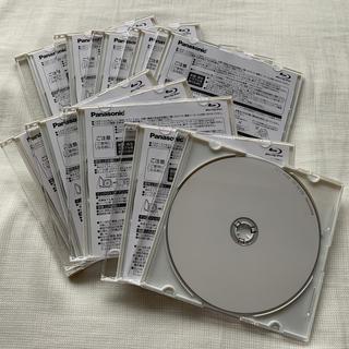 パナソニック(Panasonic)のブルーレイディスク 繰り返し録画用 10枚セット(ブルーレイレコーダー)