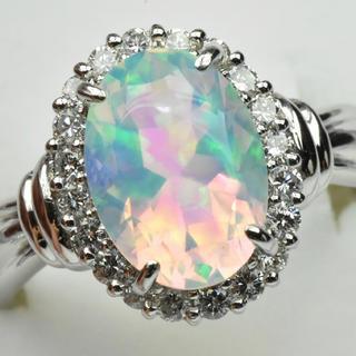 キョウセラ(京セラ)の京セラ クレサンベール 綺麗なオパール リング 10号 指輪(リング(指輪))