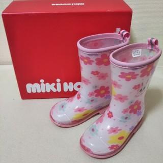 ミキハウス(mikihouse)のミキハウス ピンク 長靴 15㎝ M088(長靴/レインシューズ)