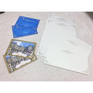 ディズニー(Disney)のディズニー ポストカード&レターセット(使用済み切手/官製はがき)
