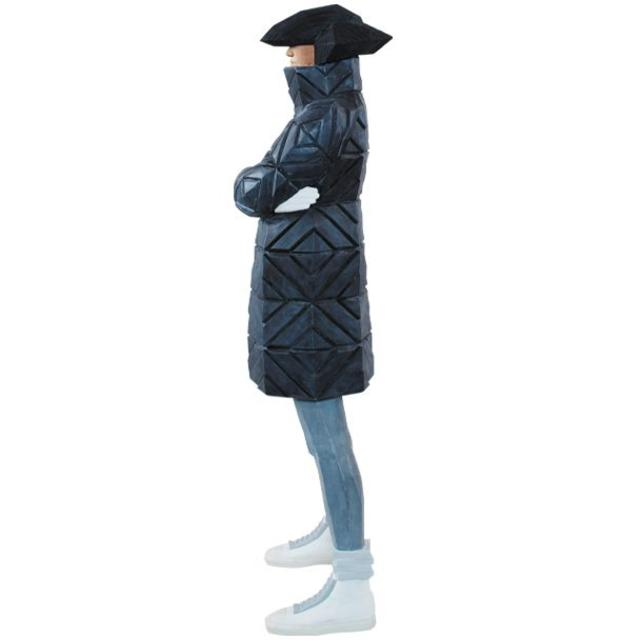 MEDICOM TOY(メディコムトイ)のB-GIRL Down Jacket NAGAME BLACK メディコムトイ エンタメ/ホビーのフィギュア(その他)の商品写真