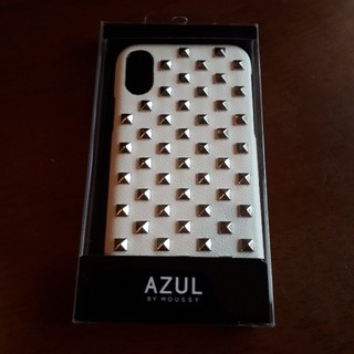 アズールバイマウジー(AZUL by moussy)の新品 AZUL i Phone ケース X/XS(iPhoneケース)
