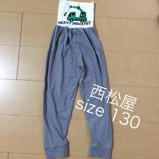 西松屋 - ☆未使用☆ 腹巻付きズボン パジャマ 130
