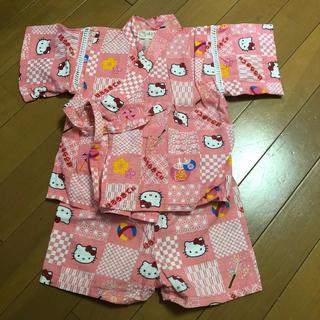 ハローキティ(ハローキティ)のキティちゃん 甚平 80cm(甚平/浴衣)