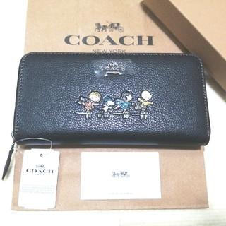 COACH - 新品未使用 COACH コーチ スヌーピー 財布