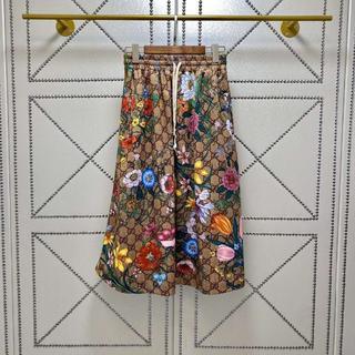 Gucci - 《GUCCI》 GGフローラプリントのジャージードレス