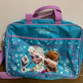 アナトユキノジョオウ(アナと雪の女王)のアナ雪 レッスンバッグ(バッグ/レッスンバッグ)