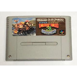 スーパーファミコン(スーパーファミコン)のSFC スーパードンキーコング 3 謎のクレミス島 (家庭用ゲームソフト)