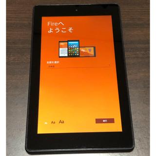 アンドロイド(ANDROID)のAmazon Fire 7 第7世代 8GB 美品(タブレット)