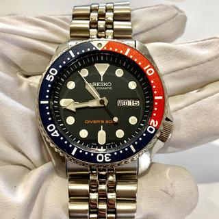 セイコー(SEIKO)のセイコー Seiko ネイビーボーイ 自動巻 ダイバー 7s26-0020(腕時計(アナログ))