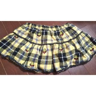 ヒステリックミニ(HYSTERIC MINI)のヒステリックミニ ミニスカート 100(スカート)