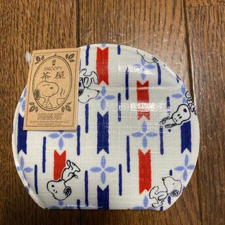 SNOOPY - スヌーピ茶屋 コンパクトミラー 花紋