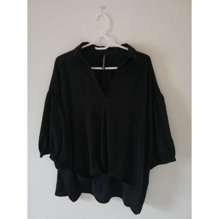 シマムラ(しまむら)の刺繍ブラウス トップス(Tシャツ(長袖/七分))