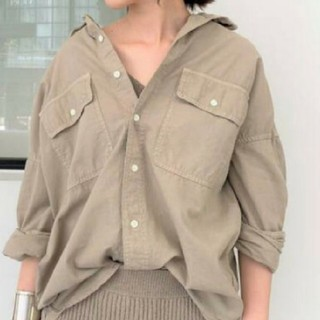 L'Appartement DEUXIEME CLASSE - 【REMI RELIEF/レミレリーフ】Chambray シャツ//ベージュ