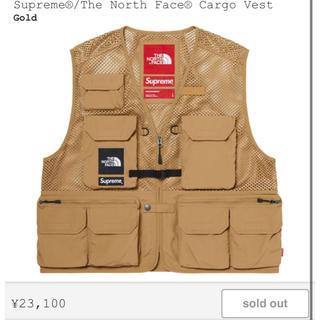 Supreme - supreme  north face cargo vest