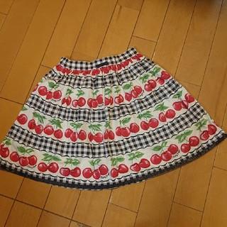 Shirley Temple - シャーリーテンプル サクランボ スカート サイズ130
